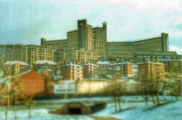 Hyde Park Flats Sheffield 1988