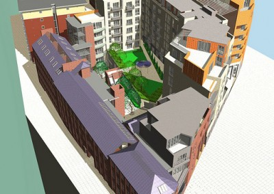 Impact Development, Upper Allen Street, St Vincent's Quarter, Sheffield